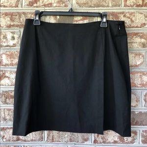 🌴GAP Women's Black Stretch Rayon Blend Skirt 12
